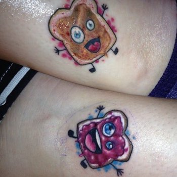 Peanut Jelly Tattoo