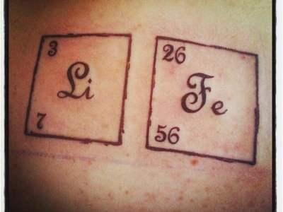 Life tattoo
