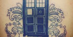 Tardis tattoo Doctor Who