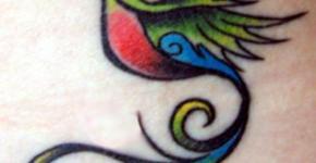 Quetzal tattoo