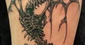 Skyrim dragon tattoo