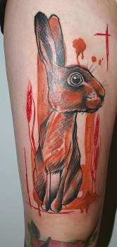 jackrabbit tattoo