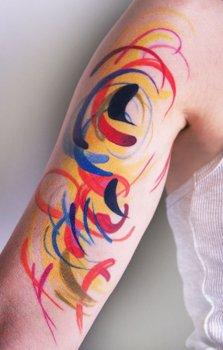 Amanda Wachob arm tattoo