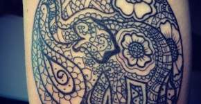 Creative elephant tattoos