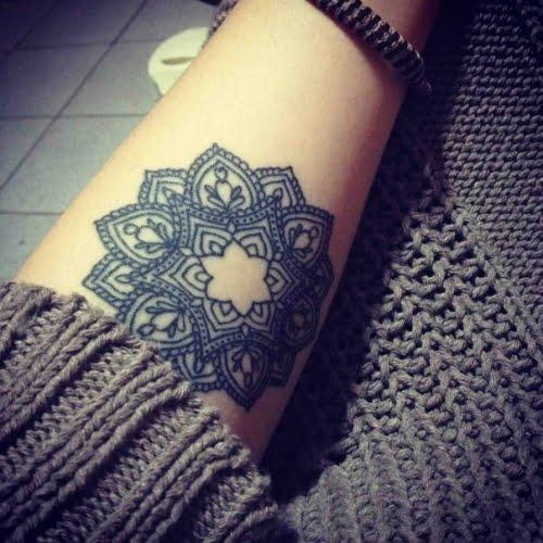 Mandala Tatuado En Antebrazo Tatuajesxd