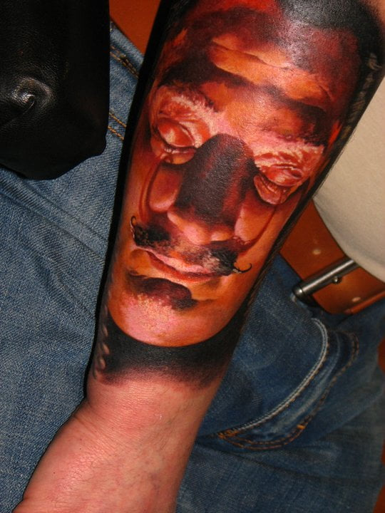 Dali tattoo