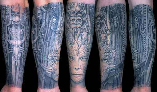 Tatuaje Biomecánico