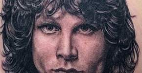Jim Morrison's tattoo