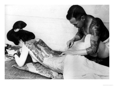 Tatuajes japoneses historia