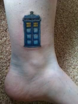 Tatuajes de Doctor Who