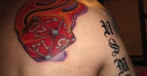 DnD tattoo