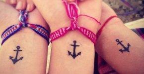 Tatuajes entre amigas