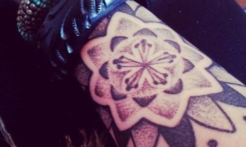 Mandala de flor de loto