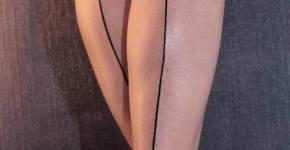 Tatuaje líneas en las piernas