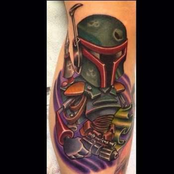 Tatuaje Boba Fett