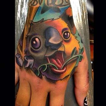 Tatuaje Koala