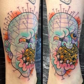 Tatuaje Pinhead