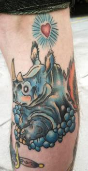 Tatuaje Rinoceronte
