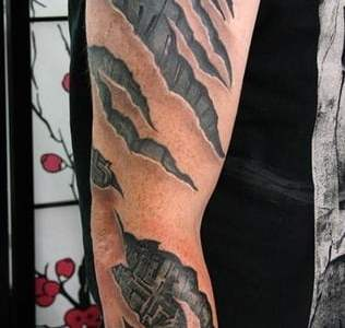 "Tatuajes de ""robots"" bajo la piel"