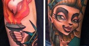 Tatuaje de la Estatua de la Libertad