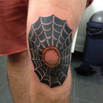 Tatuaje telaraña