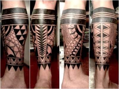 Tatuaje tribal filipino