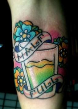 Tatuaje vaso