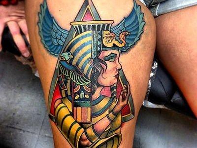 Tatuaje de Cleopatra
