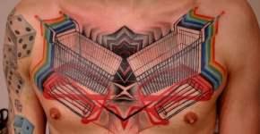 Tatuaje de carritos de supermercado