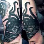 Tatuaje pulpo brazo