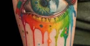 Tatuaje ojo