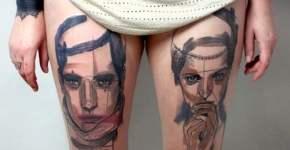 Tatuaje retratos