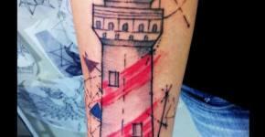 Tatuaje faro