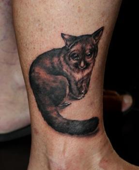 Tatuaje lemur