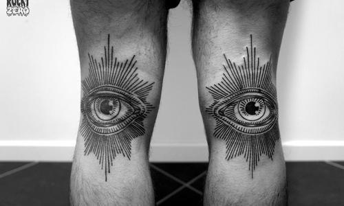 Tatuaje ojos