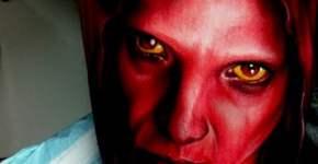 Tatuaje personaje rojo