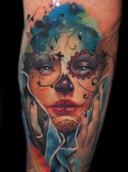 Tatuaje De Calavera De Azúcar Tatuajesxd