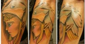 Tatuaje chica triste