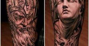 Tatuaje dioses nórdicos