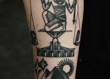 Tatuaje egipcio
