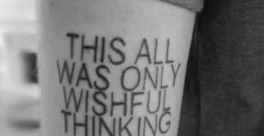 Tatuaje texto brazo