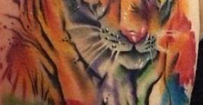 Tatuaje tigre de bengala