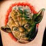 Tatuaje Yoda