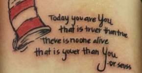 Tatuaje Dr Seuss