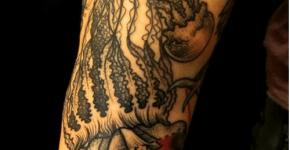 Tatuaje medusas
