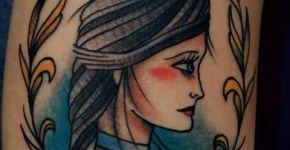 Tatuaje Elizabeth de Bioshock