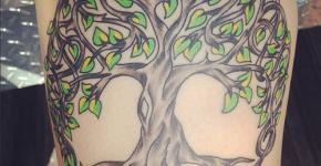 Tatuaje árbol de la vida
