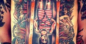 Tatuaje Houdini