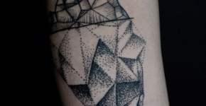 Tatuaje iceberg