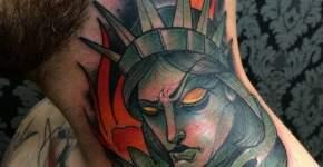 Tatuaje Estatua de la Libertad